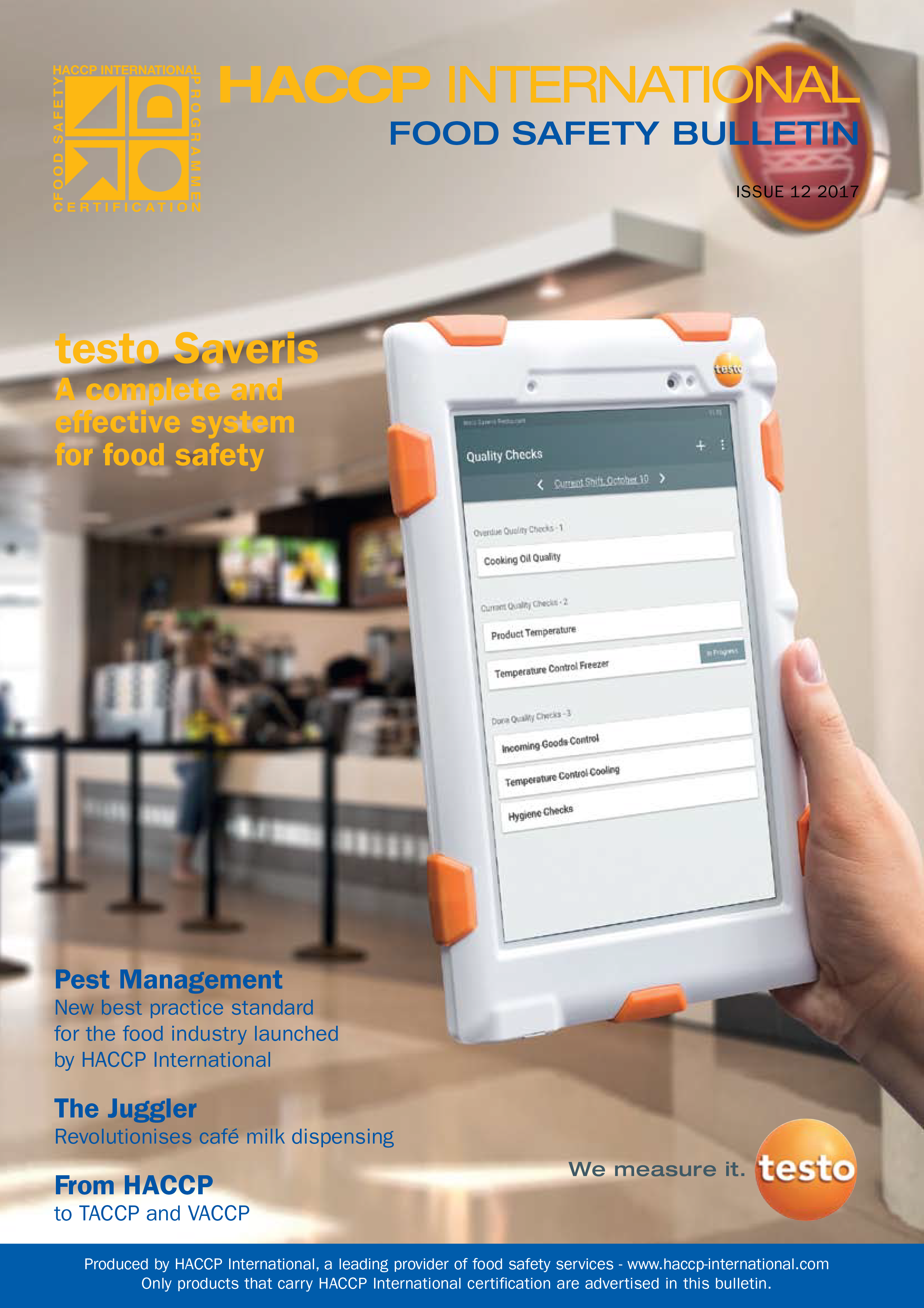 Bulletins – HACCP International