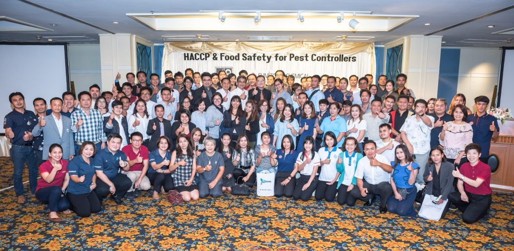 Sumitomo Chemical host 150 Pest Management Delegates at